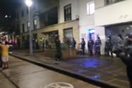 protesta San Gil Santander