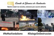 En los últimos días Bucaramanga ha vivido el caos por protestas vandálicas.