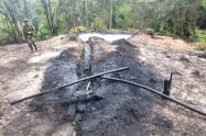 Ejército destruyó laboratorios para el proceso de coca