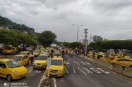 Paro de taxistas en Cúcuta