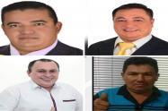 Candidatos a la Alcaldía Tibú