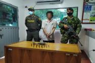 Hombre fue capturado con una granada