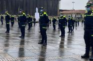 Uniforme policia colombia 2021
