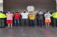 La policía metropolitana de Cúcuta realizó las capturas