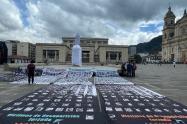 Víctimas de desaparición forzada presentaron 10.280 firmas para pedir al Gobierno que busque a los desaparecidos