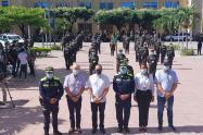 Auxiliares de Policia en Norte de Santander