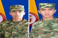 Dos soldados profesionales murieron por la caída de un rayo