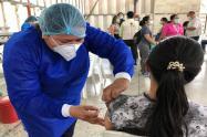 15.300 dosis de vacunas aplicadas
