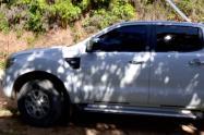 Camioneta hurtada en el Catatumbo