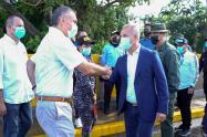 La reunión se dio entre Freddy Bernal y Víctor Bautista