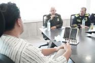 Reunión Mayor General Herman Bustamante Dr Seguridad Ciudadana PONAL