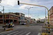 Semáforos dañados en Bucaramanga.
