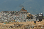 En el sitio de disposición llegan diariamente mil toneladas de desechos.