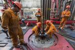 Exploración de petróleo.