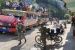 Referencia desplazados en Ituango, Antioquia.