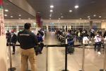 Colombianos repatriados de República Dominicana en el Aeropuerto El Dorado