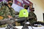 Armamento utilizado por menores reclutados en Norte de Santander
