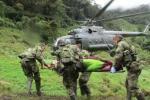 Soldados heridos en Teorama