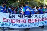 Guardia campesina marcha Cúcuta