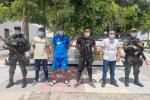 5 Capturados del Clan del Golfo