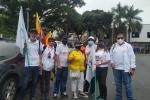 Así se desarrolla la nueva jornada de movilizaciones de este miércoles en Bucaramanga