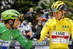Cavendish y Pogacar - Tour de Francia