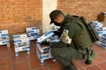 POLFA incautó cigarrillos en el centro de Cúcuta