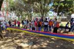 Reportan congestión vial en Bucaramanga por las marchas de este 20 de julio