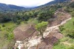 Deslizamientos en Toledo Norte de Santander
