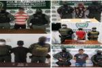 Las capturas se dieron por varios delitos