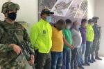 Autoridades capturaron a cuatro presuntos guerrilleros
