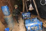 Destrucción de laboratorio de cocaína en Norte de Santander