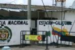 Estación de Policía de San Calixto en Norte de Santander