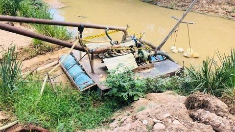 Cortolima suspende actividad minera en Carmen de Apicalá - Alerta Tolima