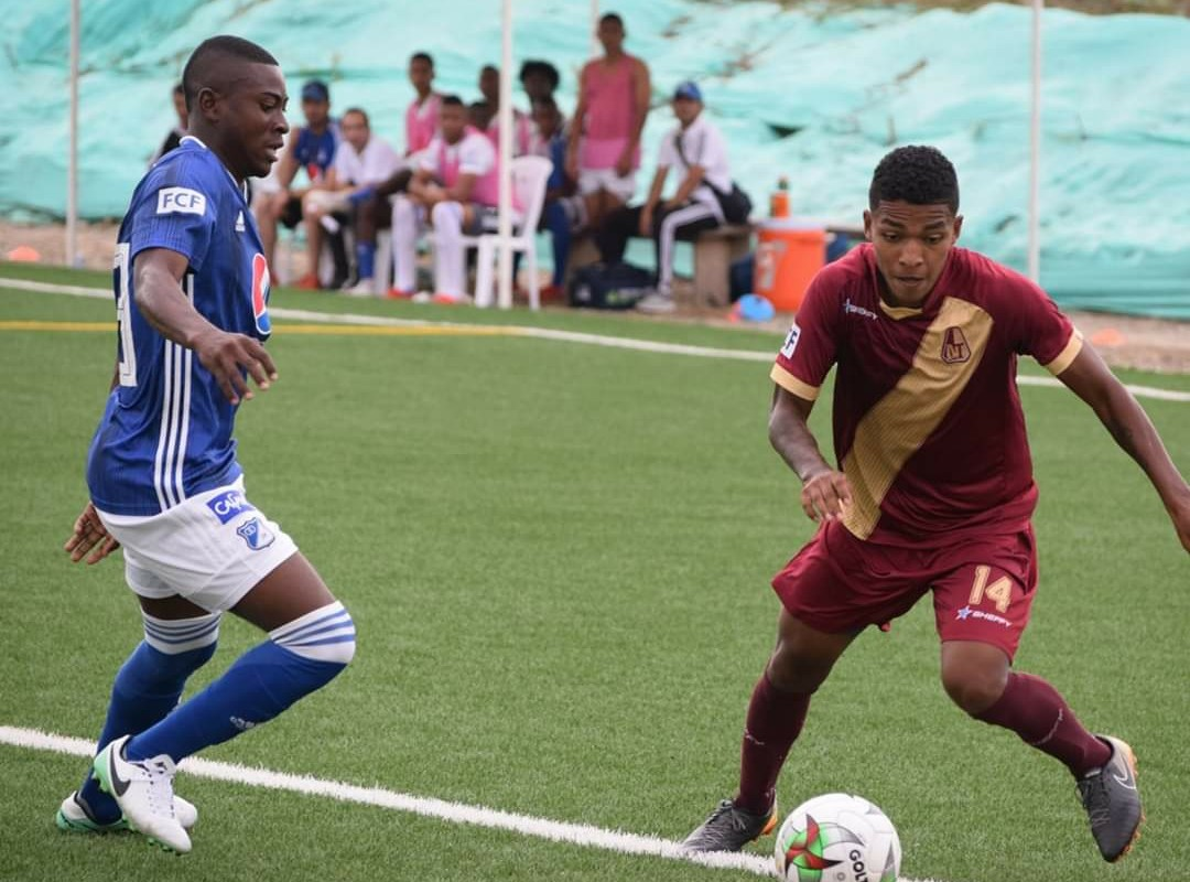 Deportes Tolima y Millonarios igualaron sin goles en la primera final de la Súper Copa Juvenil sub 2 - Alerta Tolima