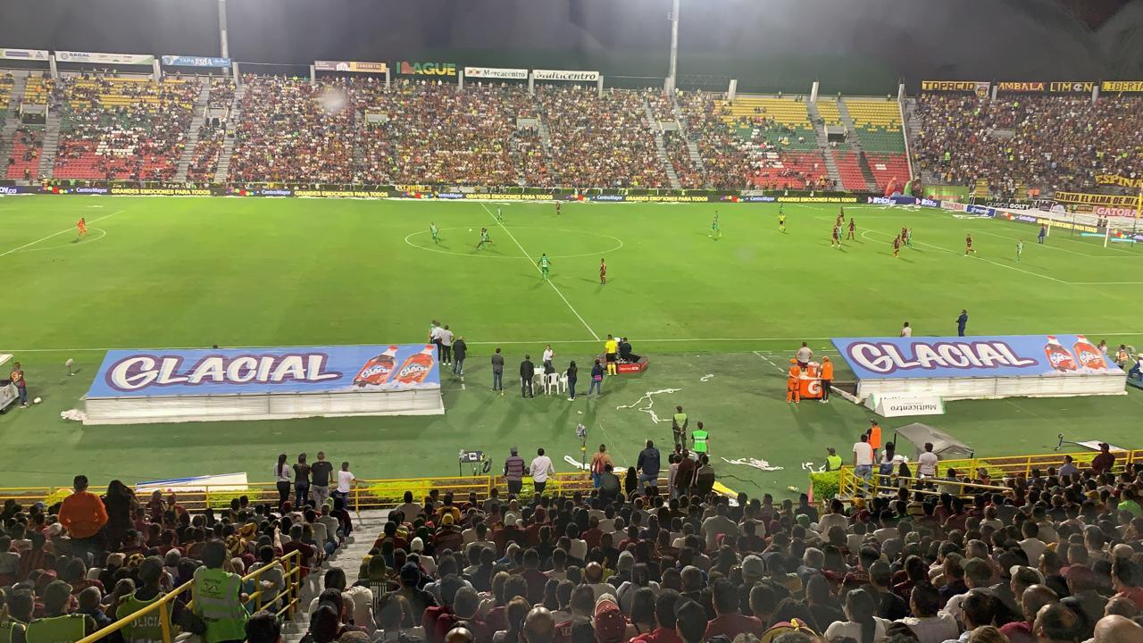 Así se cantó el gol de la victoria. Deportes Tolima 1-Atlético Nacional 0 - Alerta Tolima