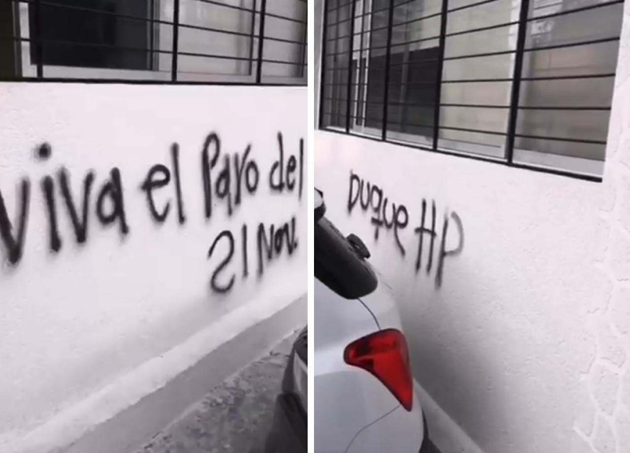 Actos vandálicos en Ibagué - Alerta Tolima