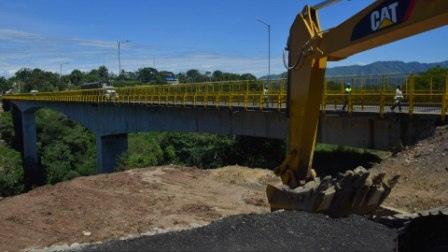 En abril se habilitarán 15 kilómetros de la doble calzada Ibagué - Cajamarca - Alerta Tolima