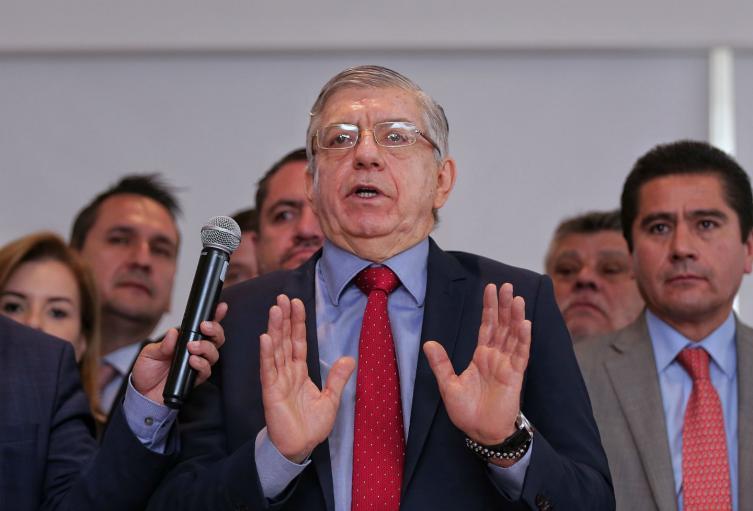 El expresidente César Gaviria