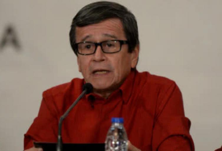 Pablo Beltrán del ELN.