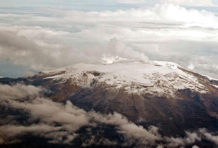 Volcán Nevado del Ruiz.