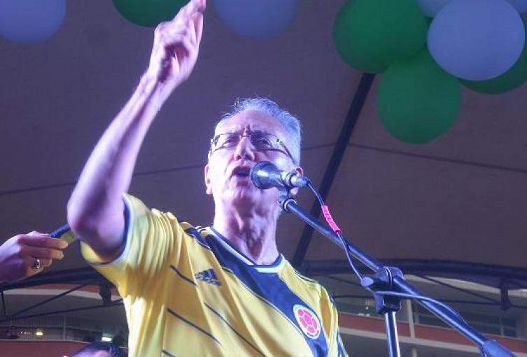 Alcalde de Ibagué, Guillermo Alfonso Jaramillo.