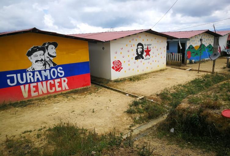 Barrio en Zona de Reincorporación de Icononzo