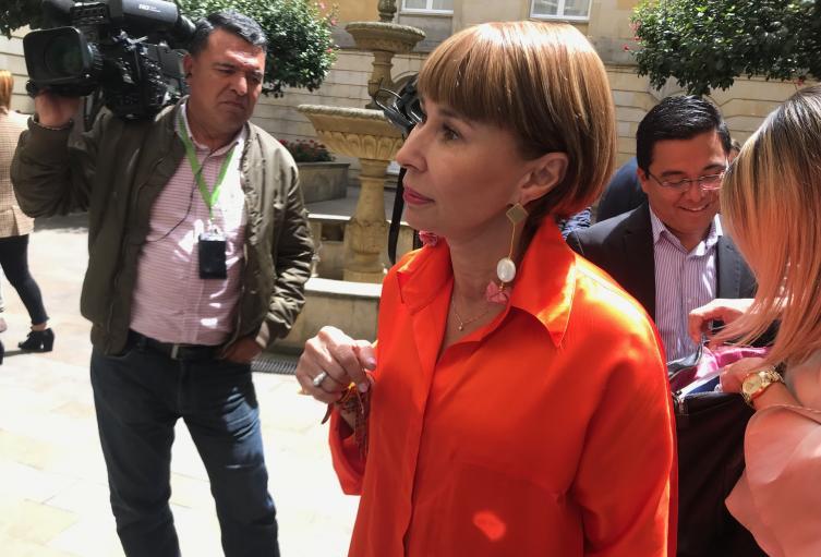 Ministra de Trabajo Alicia Arango