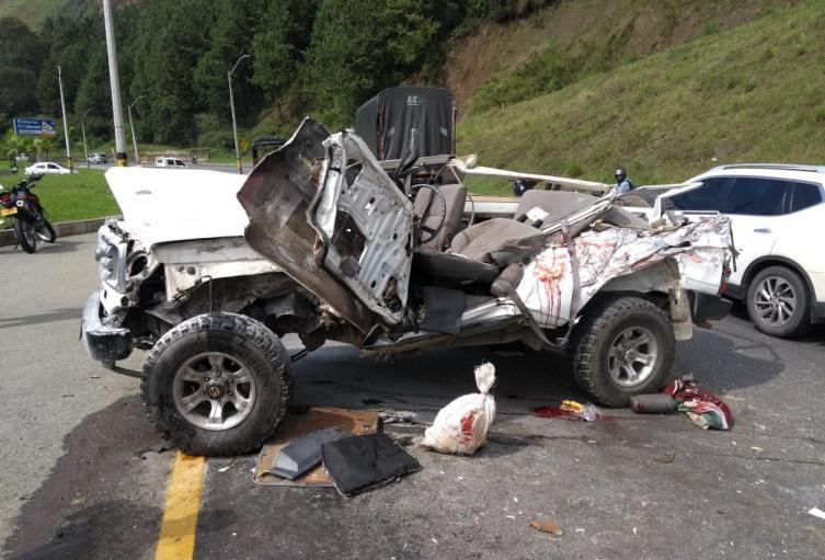 Investigan las causas de este accidente