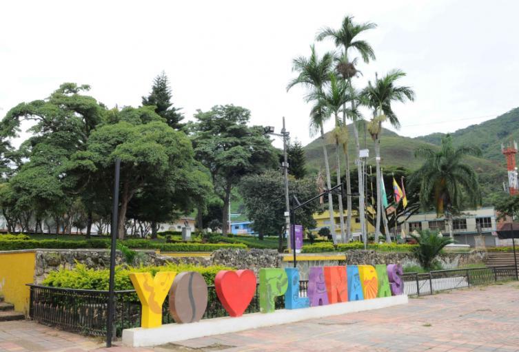 Plaza de Planadas, Tolima.