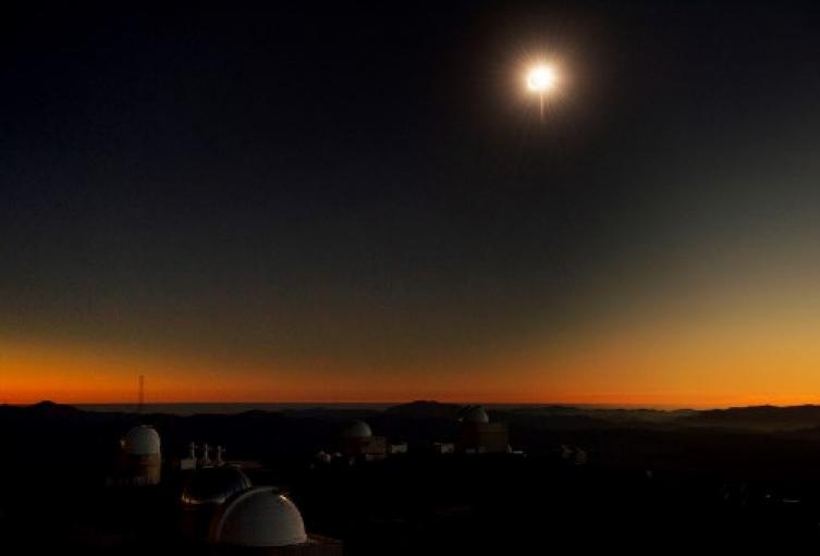 Eclipse solar chile