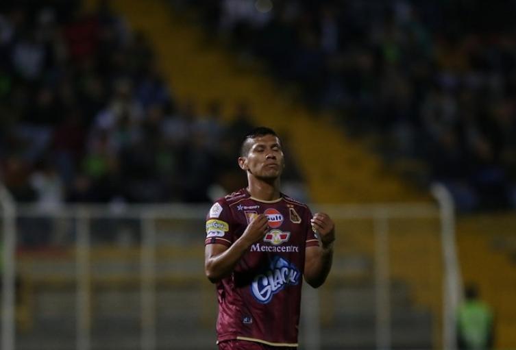 Rafael Carrascal, mediocampista del Deportes Tolima