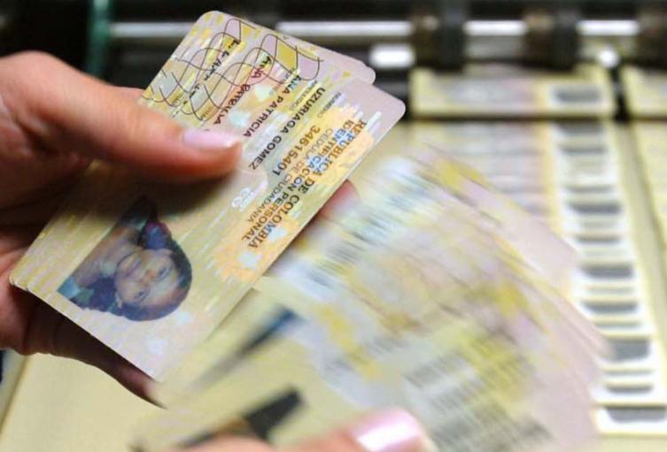 Cédulas de ciudadanía
