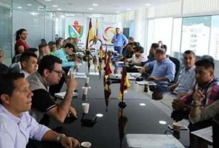 Gobernador lideró Comité Departamental para la Coordinación y Seguimiento de los Procesos Electorales
